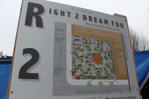 A rendering of Right 2 Dream Too created by a local architecture firm